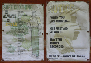 Antique Safety Posters