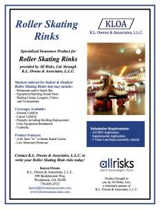 Skating Rink Flyer
