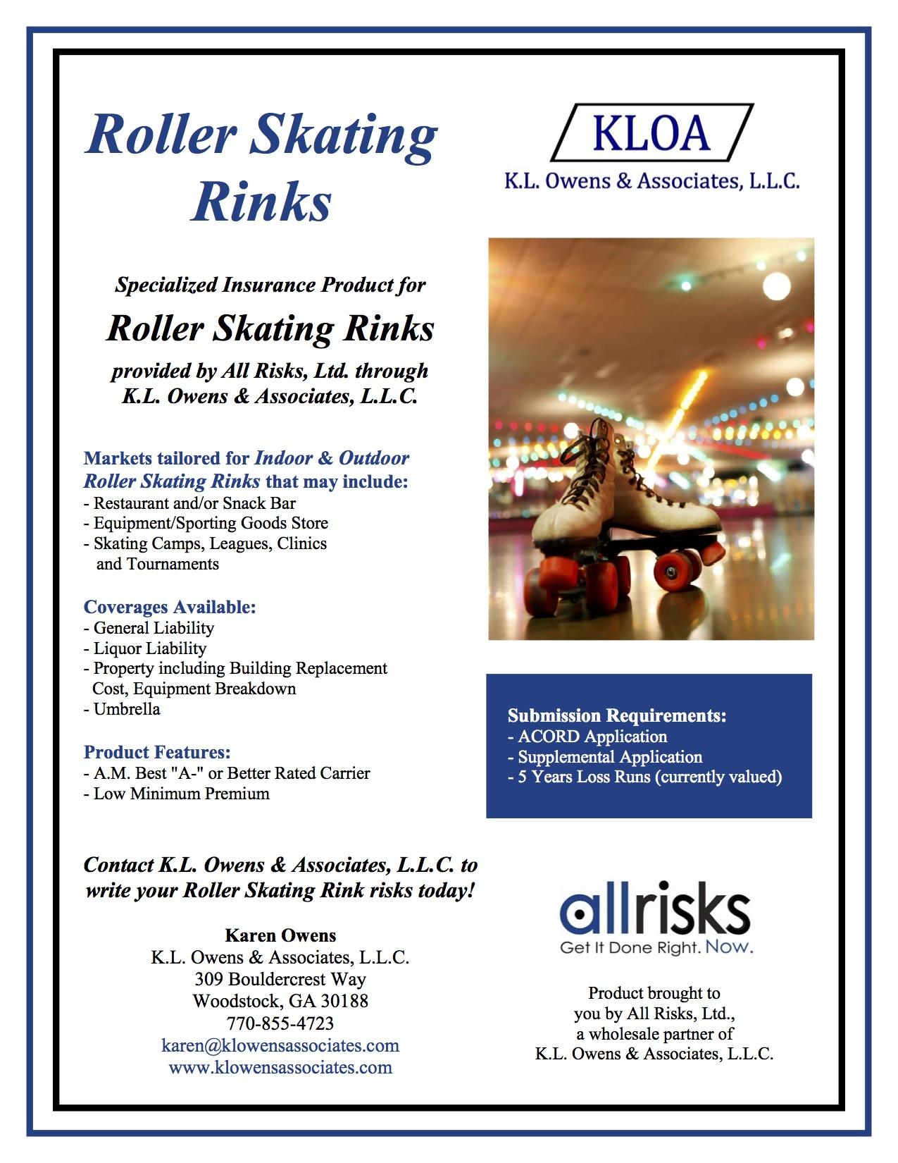 Roller skating rink in maryland - Skating Rink Flyer